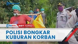 Polisi Bongkar Kuburan Terduga Pencuri yang Tewas Dihakimi oleh Massa di Kaki Gunung Cikuray Garut