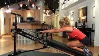 Posture Pull on the Total Trainer Home Gym