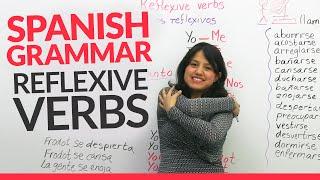 Learn Spanish Grammar - Reflexive Verbs in Spanish