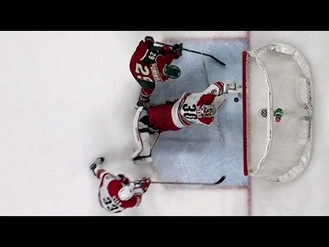 Gotta See It: Ward snares puck out of mid air to rob Wild