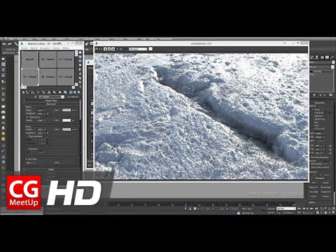 CGI 3D Tutorial HD: Creating Realistic Snow In 3ds Max & IRAY
