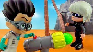 Игрушки Герои в Масках – Пушка для Ромео! – Видео для детей.