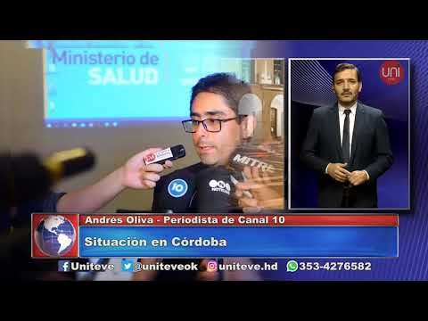 En vivo!! Córdoba Capital: periodista de Canal 10 de Córdoba para Uniteve
