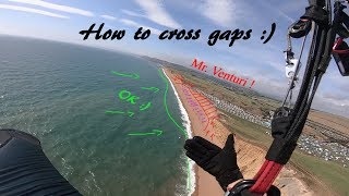 Paragliding: Tutorial how to cross gaps.