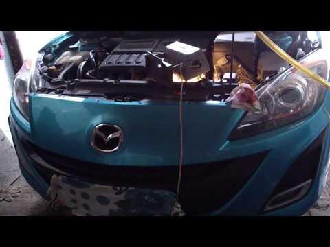 Фото к видео: Замена масла в вариаторе MAZDA AXELA BL