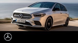 YouTube Video TnJhjy_gSTs for Product Mercedes-Benz B-Class (3rd gen, W247) by Company Mercedes-Benz in Industry Cars