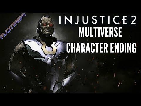 Injustice 2 | Darkseid Character Ending | Multiverse Battle Simulator |CZ/SK|