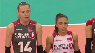 Women's VNL 2018: United States v Turkey - Full Match (Week1, Match 14)