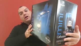 Tchibo Cafissimo Mini Kapselmaschine Electric Blue (UnboxingTest)