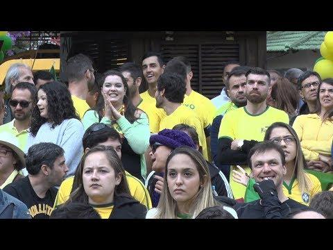 Brasil empata na estreia e frustra a empolgação dos torcedores