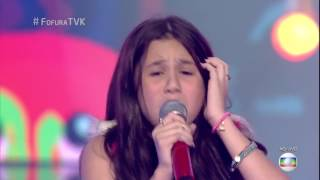 """Maybe"" - Janis Joplin - The Voice Kids Brazil (2017)"