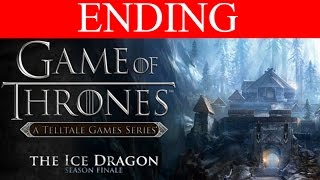 Game of Thrones Episode 6 Walkthrough Part 7 Ending The Ice Dragon PC Gameplay 1080p No Commentary
