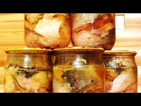Домашние консервы из рыбы в автоклаве