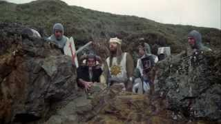 Monty Python And The Holy Grail   Bunny Attack Scene (HD)