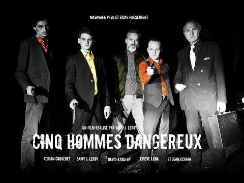 """Martial dans le CM """"Cinq hommes dangereux"""", de Samy Leroy"""