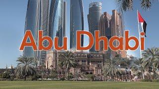 Abu Dhabi. Oil-Rich Capital Of The UAE