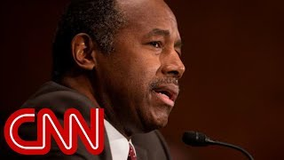 Ben Carson says old furniture was