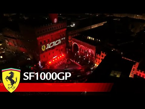 Scuderia Ferrari - 1000GP celebrations in Florence