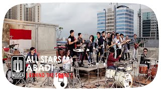 Gambar cover [ALL STARS] IWAN FALS NOAH NIDJI GEISHA D'MASIV - Abadi (Behind The Scene)
