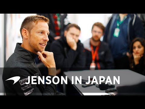 Catching up with Jenson Button in Japan