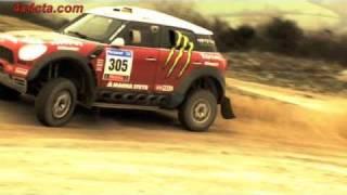 Mini X raid Dakar 2011 vidéo