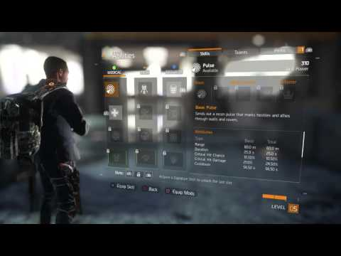 The Division - Mercy Drop: Clear Area (Ballistic Shield, Converted SMG-9, Poilce M4) Gameplay PS4