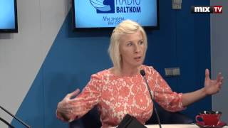 "MIX TV: Журналист телеканала ""Россия"" Екатерина Зорина в программе ""Разворот"""