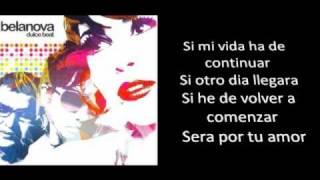 Gambar cover Belanova, Por Ti, (Letra | Lyrics).