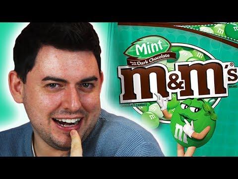Irish People Taste Test Weird American M&Ms