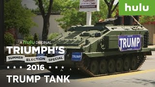 """Donald Trump"" Visits Minority Neighborhoods • Triumph's Summer Election Special 2016"