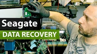 Seagate Hard Drive Data Recovery by Swapping Boards and Firmware