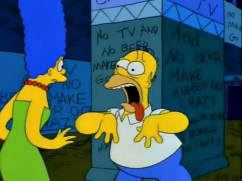No TV And No Beer Make Homer Go Crazy | Simpsons Best Moments