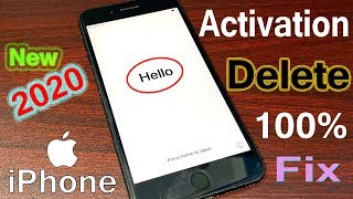 how to delete activation lock Quick Unlock iPhone iCloud Lock Without Apple ID And Password 2020
