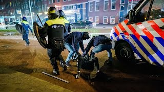Netherlands vows to keep Covid curfew in place following more riots