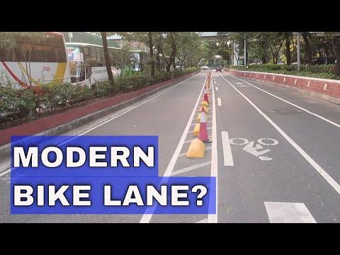 [Gadget Addict]  Quezon City Buffered Bike Lanes Divider