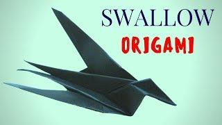 Ласточка. DIY Как сделать оригами ласточку из бумаги своими руками. Мастер класс. Поделки СДЕЛАЙ САМ В этом видео я покажу как сделать из бумаги оригами ласточку своими руками!  Подпишись в группу в контакте