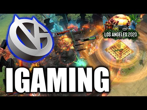 VICI GAMING vs INVICTUS GAMING - VG VS IG - (GAME 1) - ESL ONE LOS ANGELES 2020 Online DOTA 2
