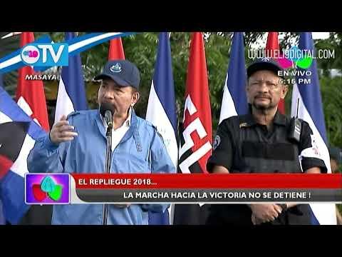 Presidente Daniel Ortega llama a tomar el camino de la paz
