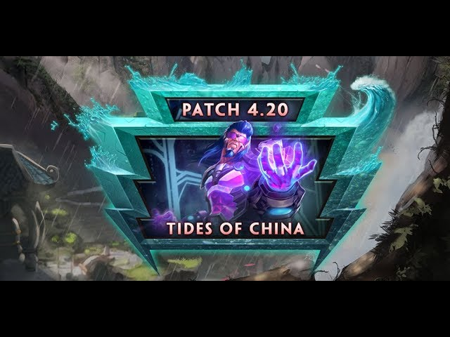 SMITE Patch Notes VOD - Tides of China (Patch 4.20)