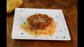 Bolognese Sauce Recipe | How to Make Classic Bolognese