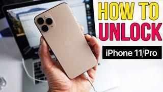 How to Unlock iPhone 11 / 11 Pro / 11 Pro Max - Passcode & Carrier Unlock