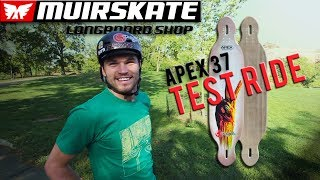 Test Ride Original Apex 37 | MuirSkate Longboard Shop