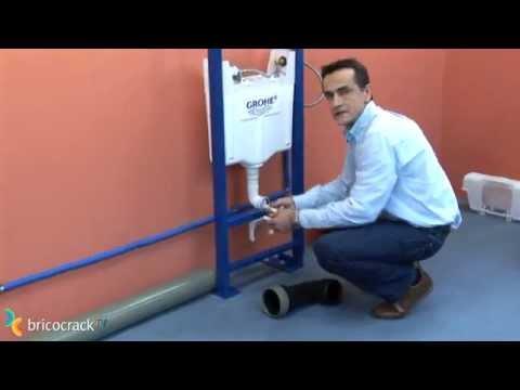 Instalar un módulo para inodoro WC suspendido (Bricocrack)