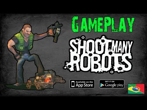 shoot many robots ipad