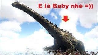 ARK: Survival Evolved - Xây dựng công viên cho Khủng long Baby =))