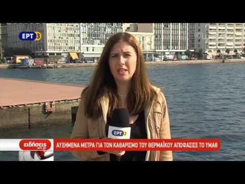 Εμφανίστηκε ξανά το φαινόμενο της ερυθράς παλίρροιας στον Θερμαϊκό   5/11/2018   ΕΡΤ