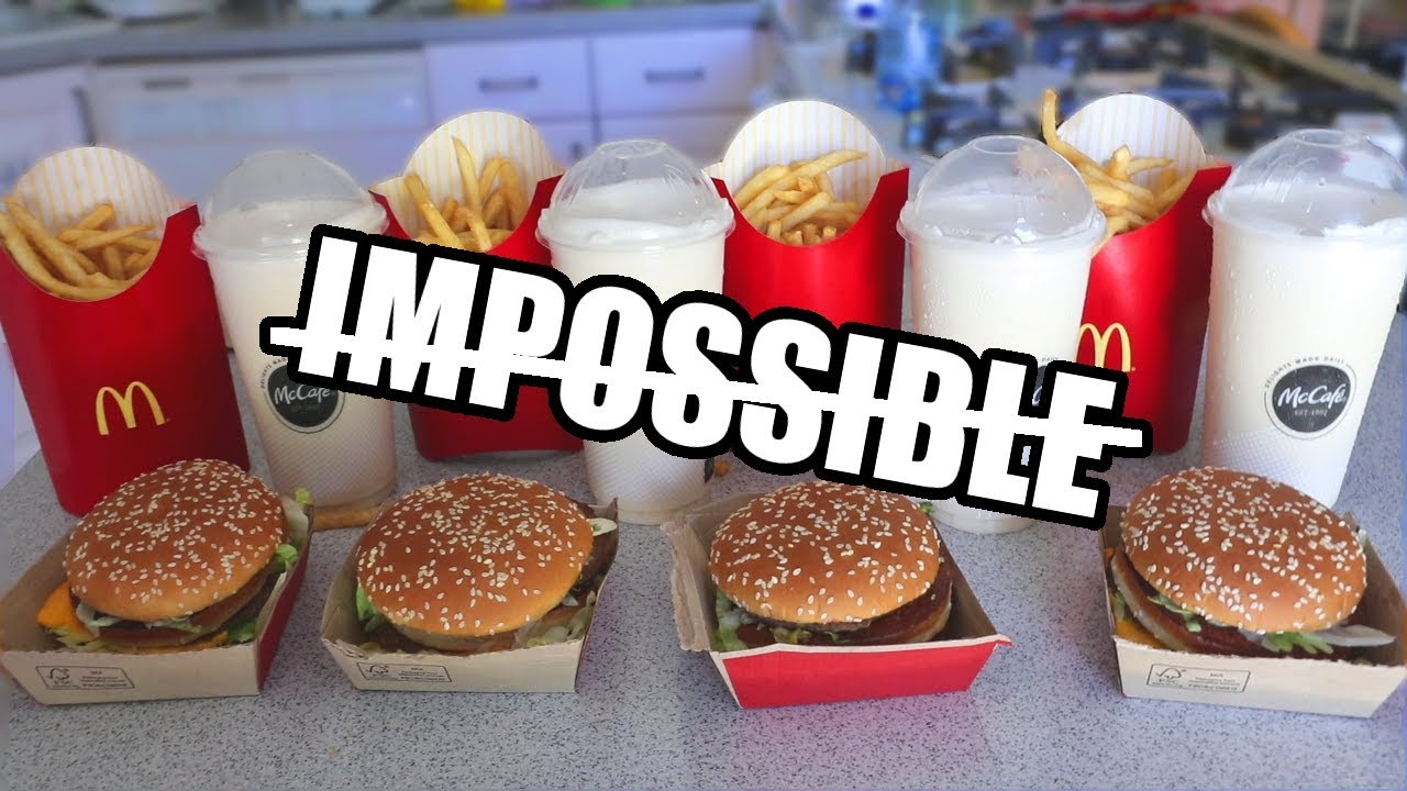 """The """"Impossible"""" Big Mac Challenge DESTROYED thumbnail"""