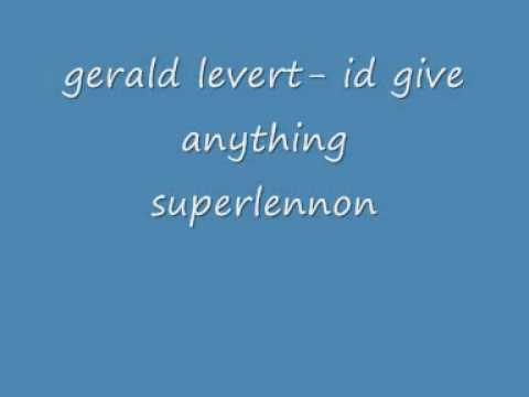 gerald levert id give anything