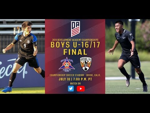 2019 Development Academy Finals: U16/17 Boys Final - Solar SC vs. Concorde Fire