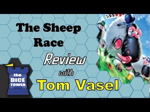 Dice Tower Reviews: The Sheep Race